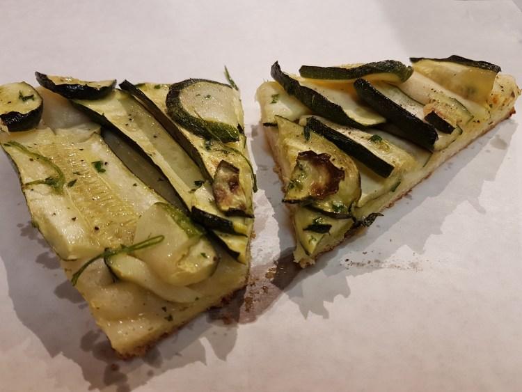 Zucchini Pizza - Florence!