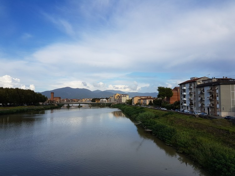 Town of Pisa - View over River Arno