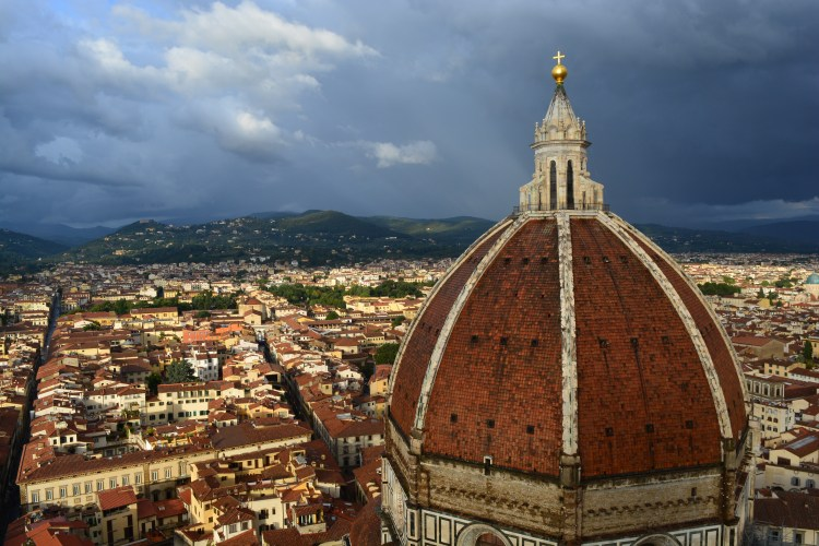 View of the Duomo from Campanile di Giotto Florence