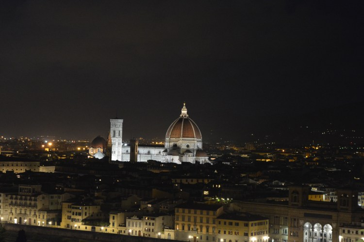 View of the Duomo from Piazzale Michelangelo