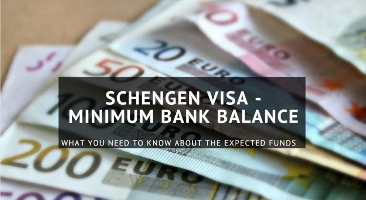 Minimum Funds needed for Schengen Visa