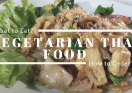 Vegetarian Thai Food in Thailand