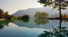 Infinity Pool - Mountain Bar and Bistro Hilton Shillim