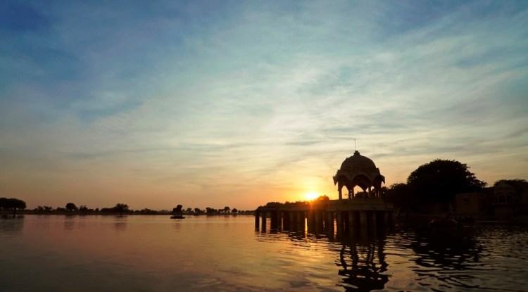 Gadisar Lake Jaisalmer Rajasthan