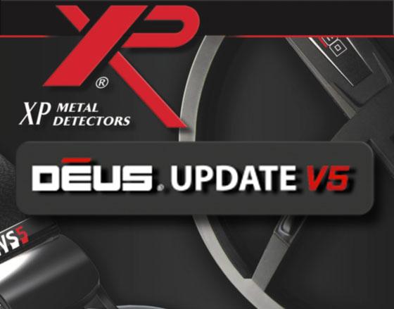 XP DEUS V5, disques X35 et casque WS4