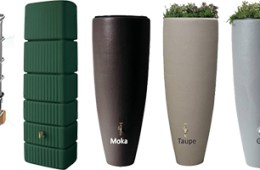 Récupérateur d'eau de pluie : les cuves hors sol