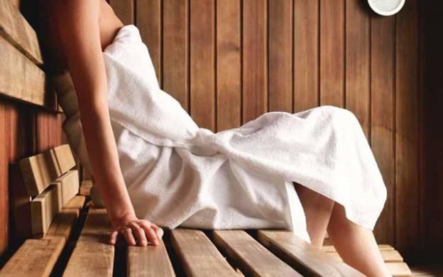 sauna espace de détente