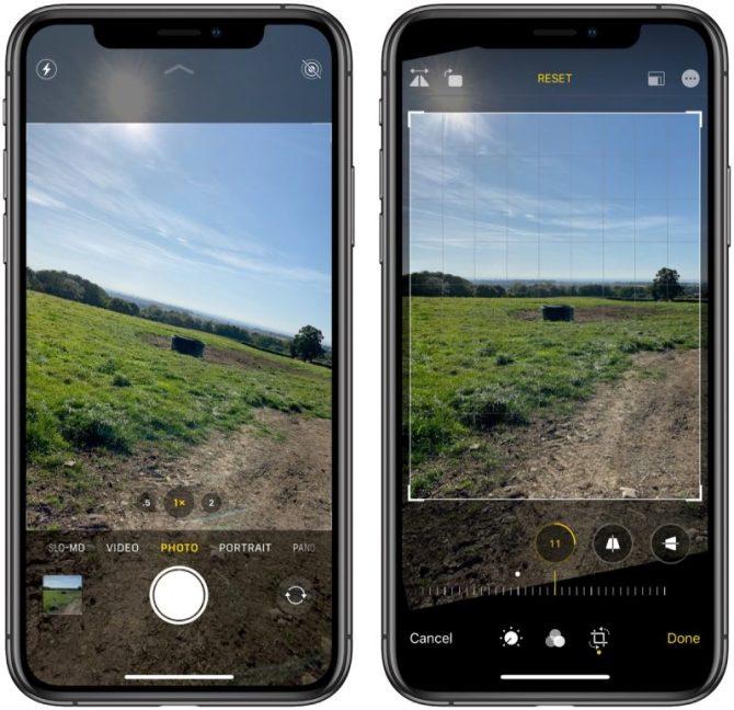 iphone11- qualité de camera