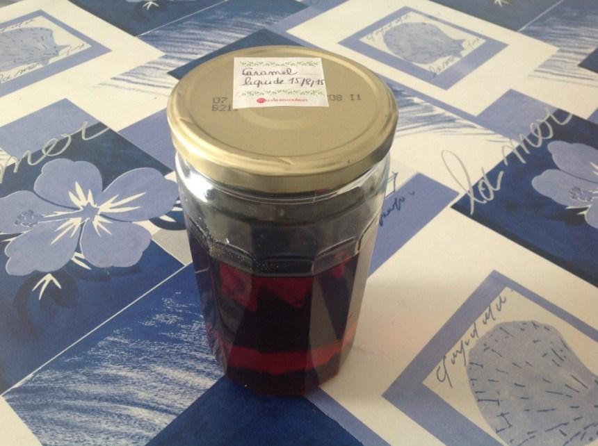 caramel liquide (sans thermomix)