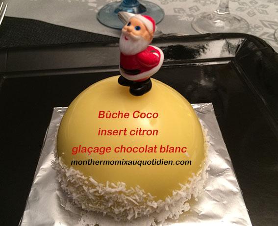 buche coco citron thermomix