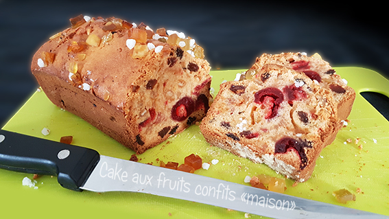 cake fruits confits maison thermomix