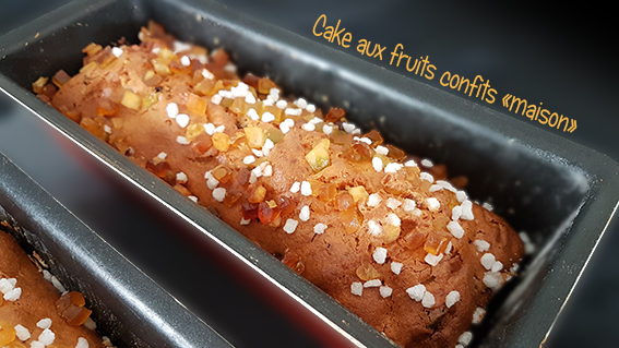 cake fruits confits thermomix