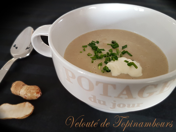 velouté topinambour thermomix