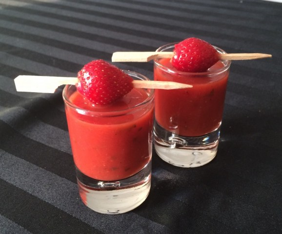 velours fraise tomate