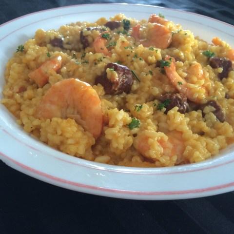risotto-safrane-aux-crevettes-et-au-chorizo-2