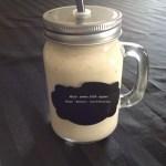 Milk-Shake 100% végétal Poire – Banane – Lait d'Amandes