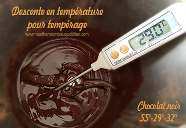 tempérage chocolat thermomix