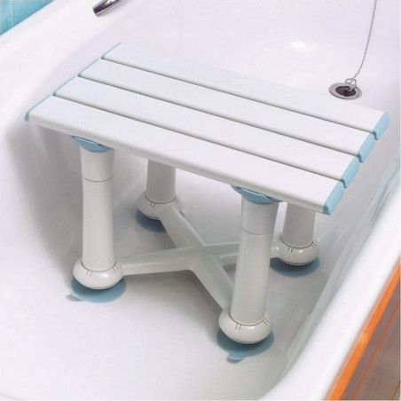 tabouret de bain reglable avec