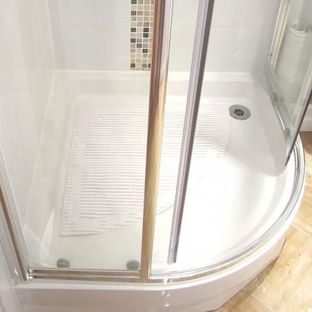 tapis de douche ou baignoire d angle