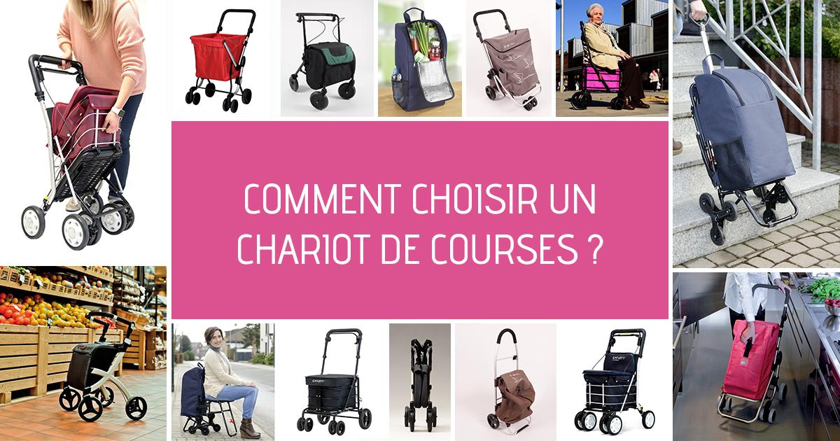 comment choisir un chariot de courses