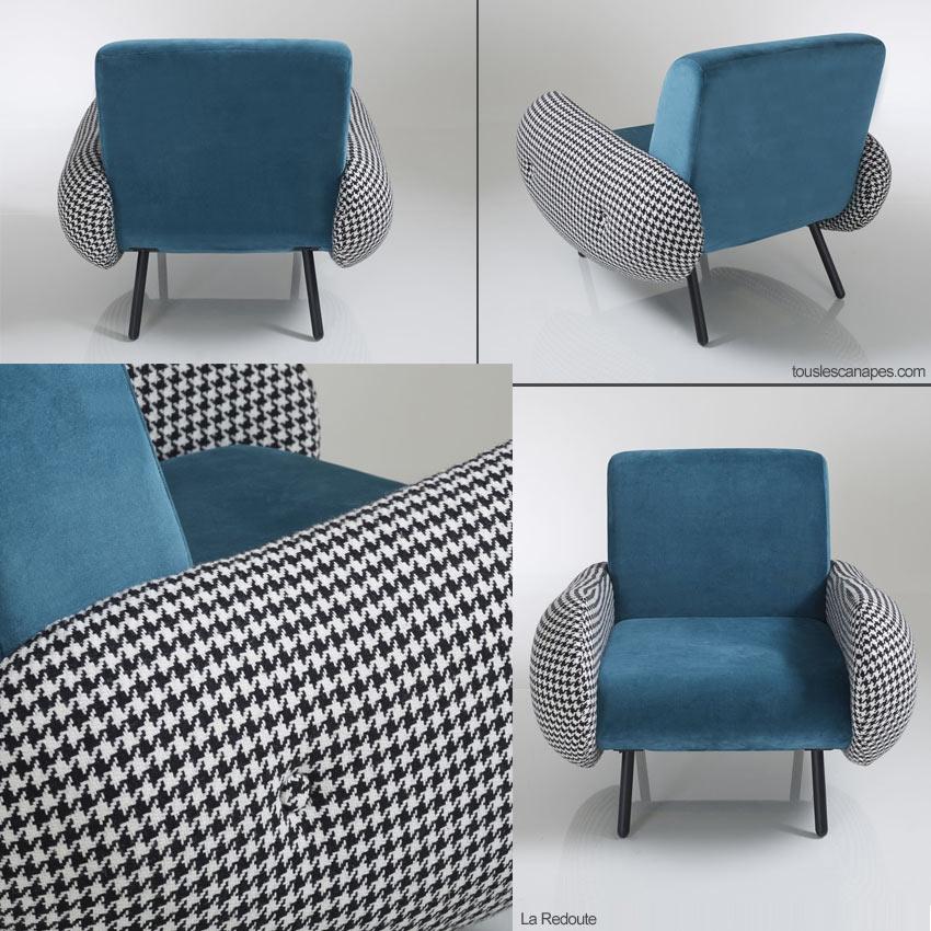 fauteuil vintage watford de la redoute