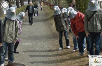 google-street-view japon