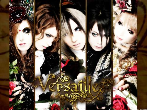 Le groupe de musique Versailles