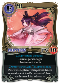 shadow hunters perso hunter