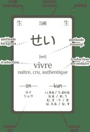 Kanji flashcard