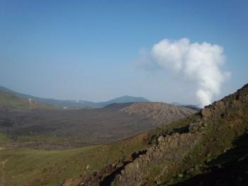 Le volcan Aso