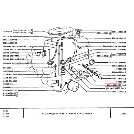 Bouchon Lada Lada Niva 4x4