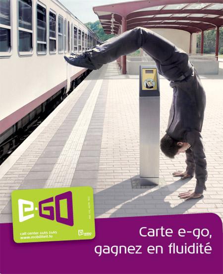 E Go carte électronique transport luxembourg