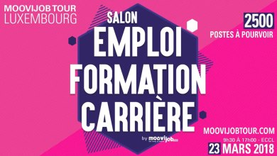 Photo of Salon de l'emploi Moovijob Tour au Luxembourg : Jour J