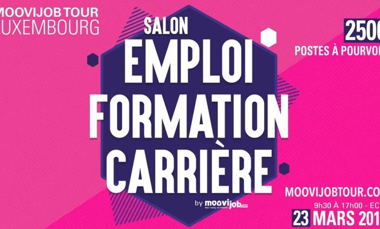 Photo of Salon de l'emploi Moovijob Tour au Luxembourg : Jour J