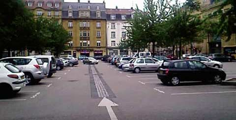 parking place du roi georges metz