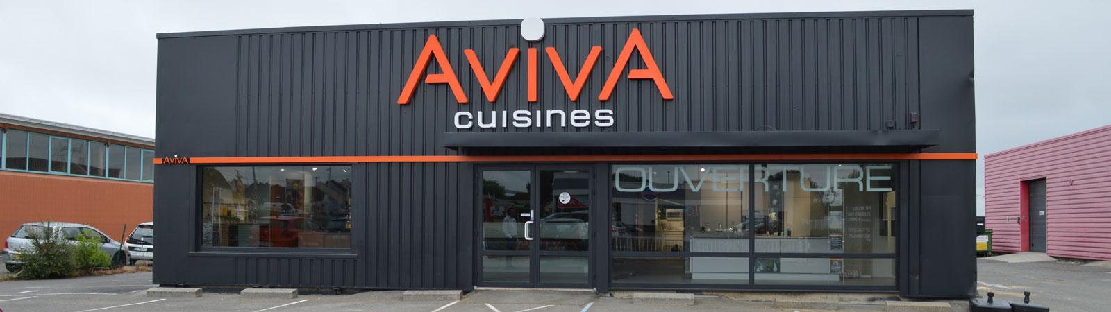 Aviva Cuisines sinstalle  SaintNazaire  Trignac