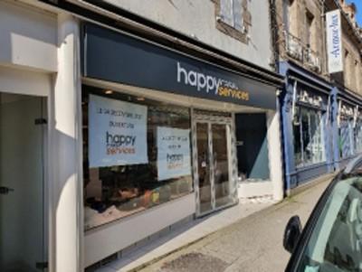 happy cash services ouvre un magasin