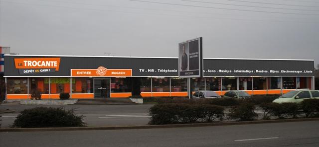 la trocante dans franchise depot vente