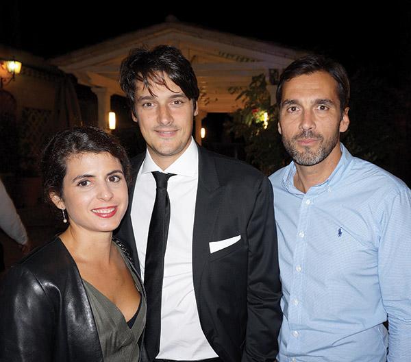 Caroline & Jean-Pierre Brot, Christophe Reybert