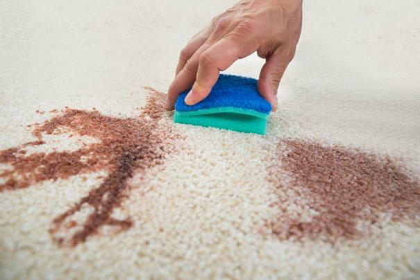 Comment nettoyer un tapis tach  Tout pratique