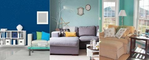 Trendy Ide Couleur Tendance Salon With Chambre Bleu