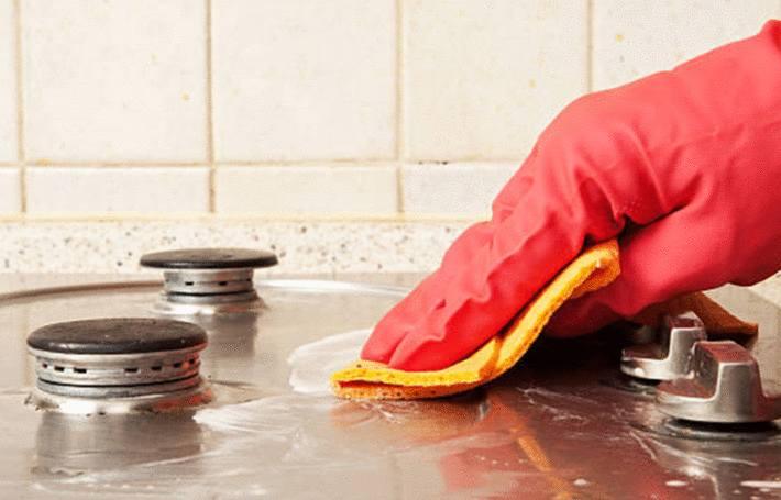 Nettoyer plaque de cuisson inox  Tout pratique