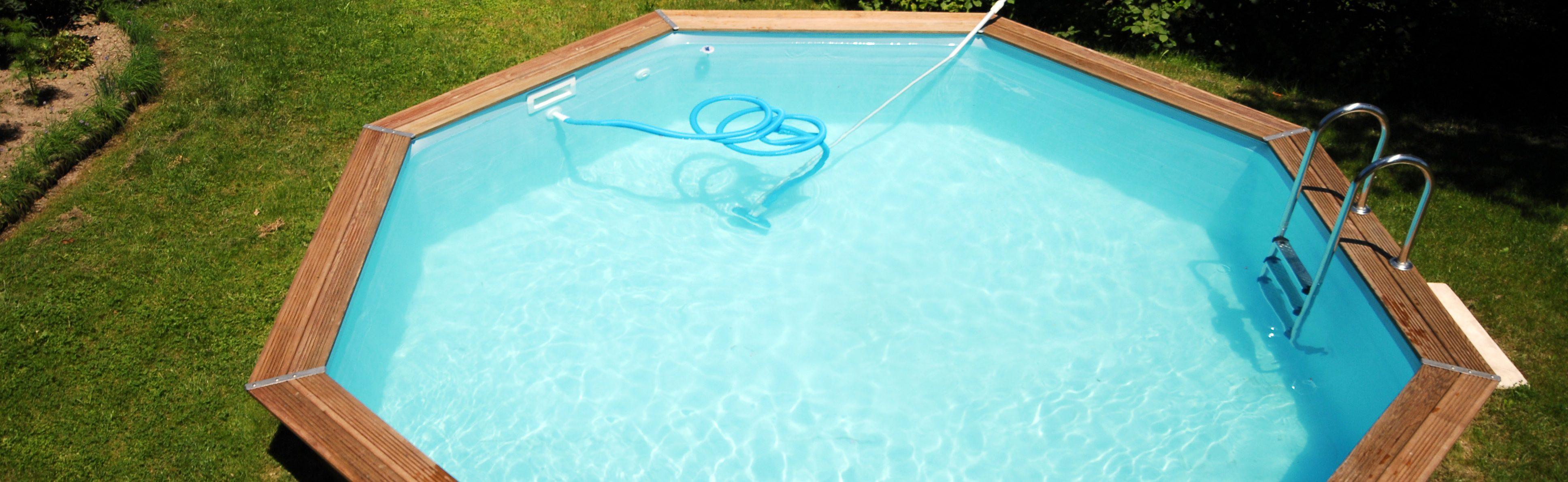 une dalle beton pour piscine hors sol