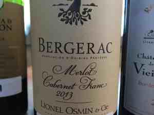 Bergerac lionel osmin
