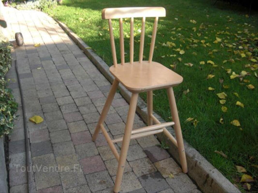chaise haute junior ikea bois naturel