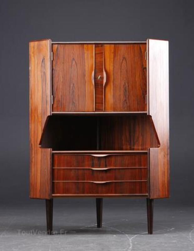 meuble d angle bar scandinave 1960