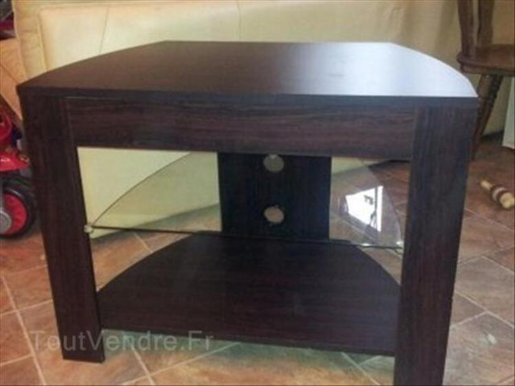 meuble tv d angle couleur wenge benesse