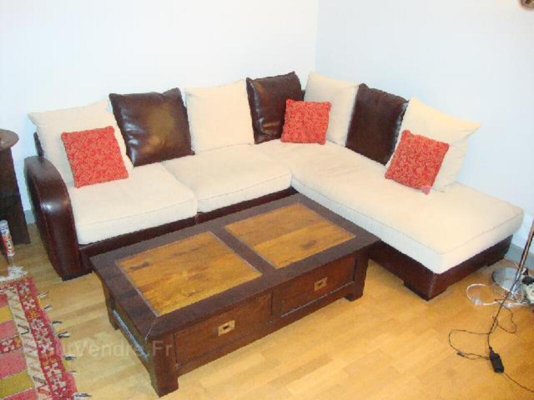 table basse terra nova en teck et bois