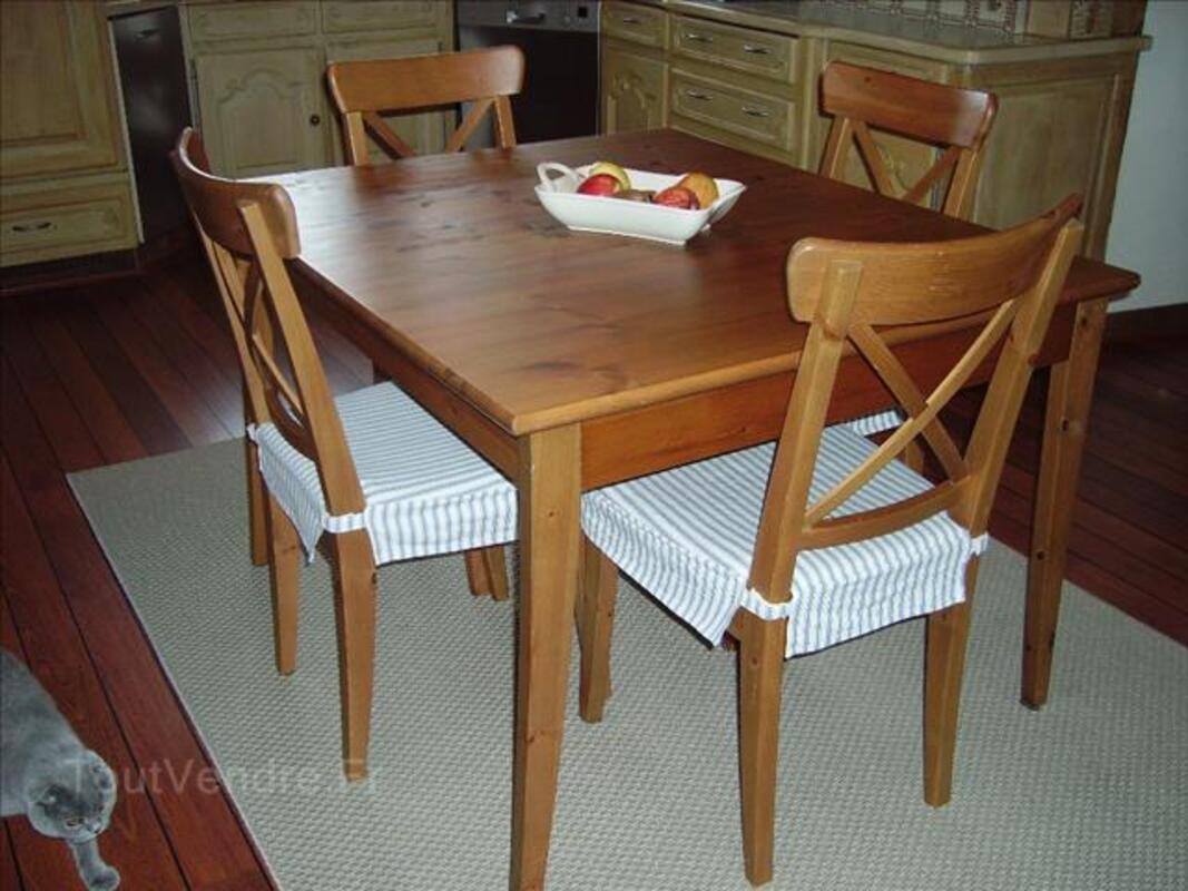 table cuisine 4 chaises ikea modele