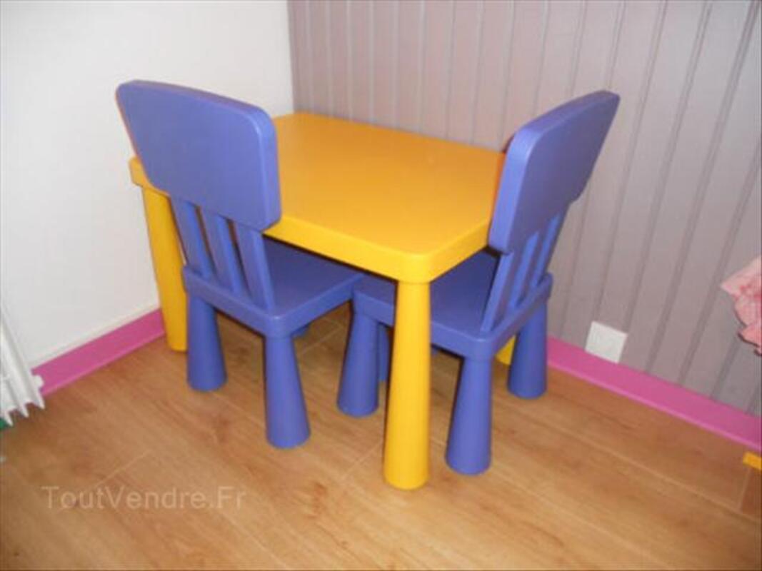table et chaises enfants ikea mammut